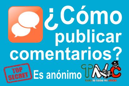 Cómo publicar comentarios en TncMx