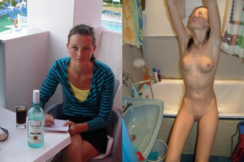 JesusRaves Before and After Clothed And Nude (35)