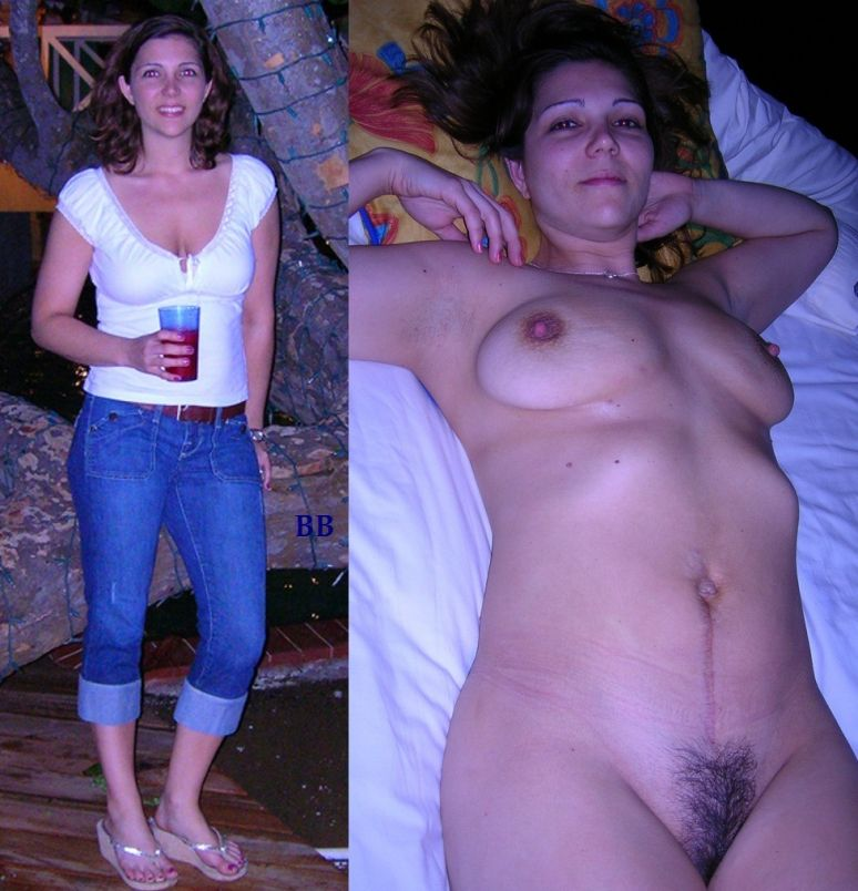 JesusRaves Before and After Clothed And Nude (62)