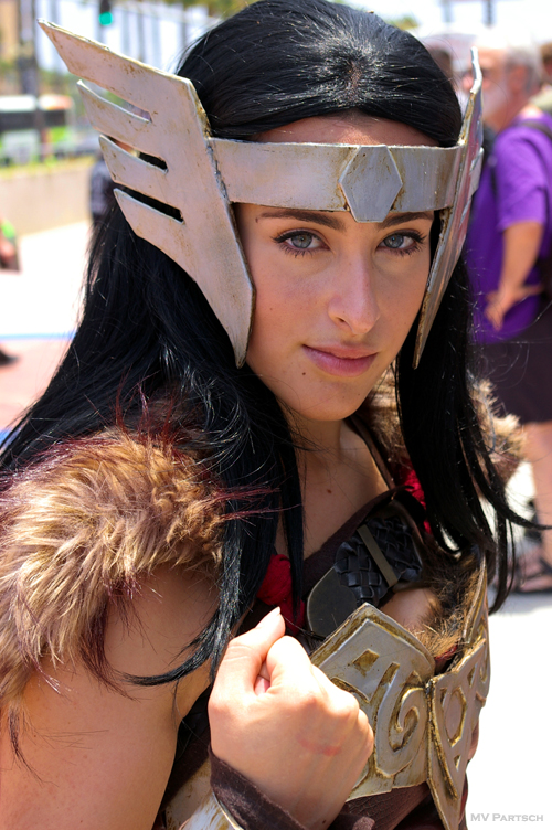 .The Lady Sif. ~ Comic-Con. San Diego. 2012. Just Outside the Convention Center.